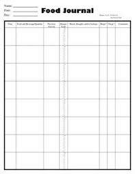 printable daily food intake journal free printable food journal helps you keep track of your daily