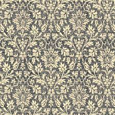 Peel And Stick Wallpaper Reviews by Distressed Damask Peel Stick Wallpaper Black Cream Self Adhesive