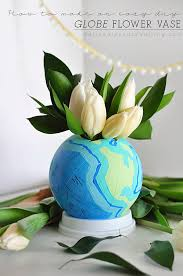 How To Draw A Vase Of Flowers Globe Flower Vase