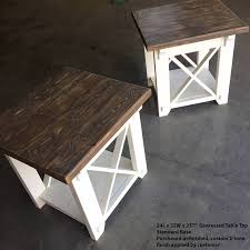 X Side Table Interesting X Side Table With Collection In X Side Table With Diy