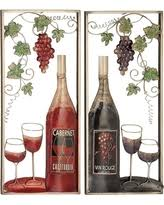 Wine Glass Wall Decor Surprise Deals For Decorated Wine Glasses