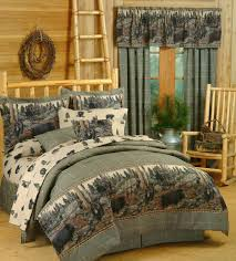 bear themed home decor bedroom creative cabin themed bedroom decor idea stunning top in