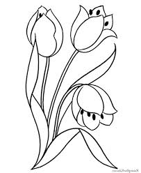 flower blooming coloring page flower blooming coloring page