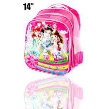 cy 1455 princesspink bag sekolah 3 d print disney princ ess