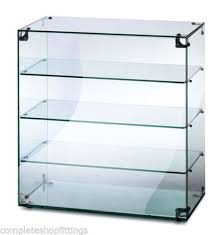 glass counter display cabinet countertop glass display case ambient food cake display cabinet