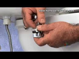 Toilet Faucet Leak How To Fix A Toilet Water Supply Valve Replacement Part 1 Of 2