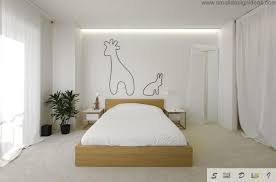 Bedroom Comfortable Bed With Smooth Bedroom Wall Decoration Ideas