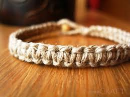 bracelet macrame images Natural hemp bracelet macrame bracelet for men and women jpg