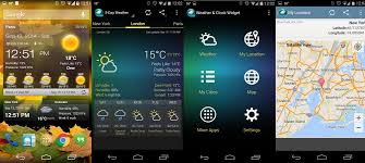 clock and weather widgets for android best android weather widgets
