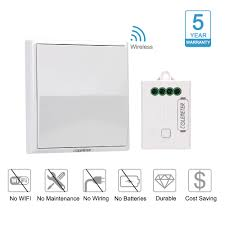 colemeter wireless light switch kit no wiring no battery no