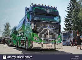 mercedes truck 2016 porvoo finland july 2 2016 super truck mercedes benz actros