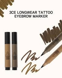 henna eye makeup 3ce 3 concept longwear tattoo eyebrow marker 4g korea