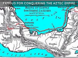 Aztec Empire Map Dudes With Ships By Cshort