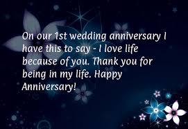 Wedding Quotes To Husband Wedding Anniversary Wishes For My Husband