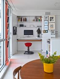 Computer Desk With Shelves Above Home White Computer Desk With Additional Shelves Above It