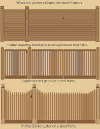 wooden gates picket and timber gate design loversiq