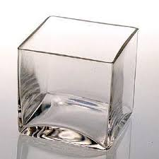 Clear Glass Square Vase Products Wedding Regency Party Rental U0026 Productions