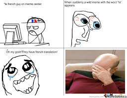 french translation by peepingpelicans00 meme center