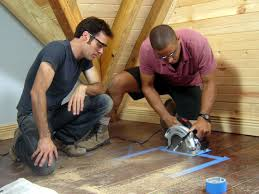 Cutting Laminate Flooring With Circular Saw How To Make Hideaway Storage Compartments In The Floor How Tos Diy