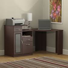 Corner Computer Desk With Drawers Latitude Run Wilmot Corner Computer Desk Reviews Wayfair