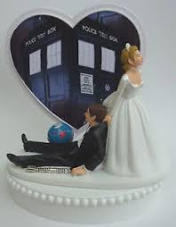 dr who wedding cake topper wedding cake topper doctor who dr themed dragging groom