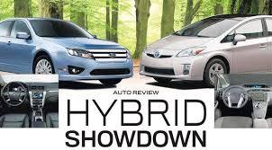 toyota prius vs camry 2010 prius beats 2010 fusion hybrid in detroit showdown