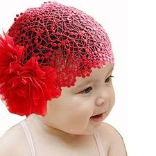 lace headwear baby girl toddler lace wide headband big flower stretch