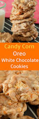 candy corn oreo white chocolate chip cookies brooklyn farm