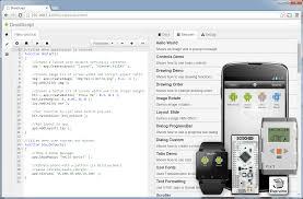 droidscript javascript mobile coding ide android apps on