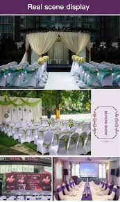 cheap price wedding chair sashes dining room chair slipcovers