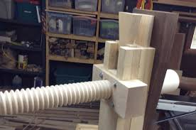 Wooden Bench Vise Screws by Roubo The Burton Workshop