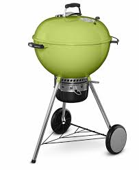 weber master touch charcoal grill spring green 22 u2033 limited edition