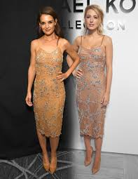 katie holmes wore a dress blake lively already slayed in