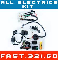 all electrics 50 70 110 125cc 140 wire harness cdi coil dirt bike