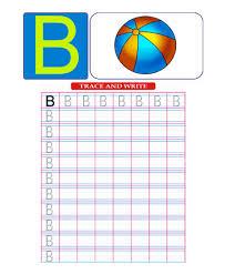printable capital letter b coloring worksheets free online