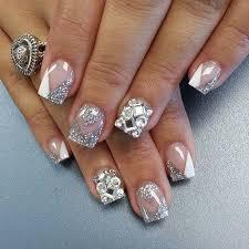 wedding nail designs bridal nail 2057340 weddbook