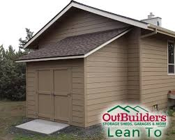How To Build A Lean To On A Pole Barn Outbuilders Storage Sheds Since 1992