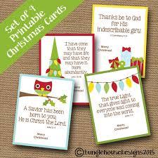kids printable christmas cards cute scripture christmas
