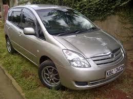 nairobimail toyota spacio 2003 g select 1500cc vvti front rear