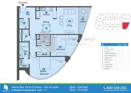 marina blue floor plans marina bay tower city of lights al reem island