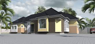 contemporary nigerian residential architecture 4 bedroom bungalow