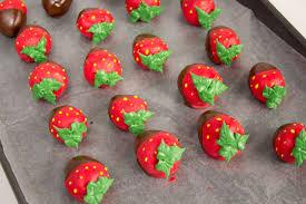 Chocolate Covered Strawberries Tutorial Chocolate Covered Strawberry Cake Bites The Bearfoot Baker