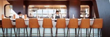 Restaurant Kitchen Table by The Restaurant At Heathrow Terminal 5 Plane Food Gordon Ramsay