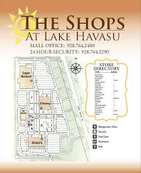 Lake Havasu Map Directory The Shops At Lake Havasu