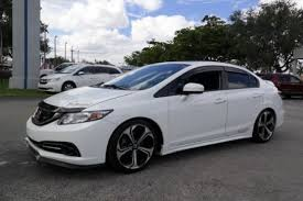 honda civic si sedan in miami fl for sale used cars on