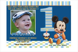 12 mickey mouse birthday invitations jpg psd ai illustrator