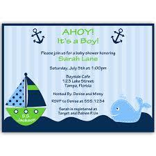 ahoy it u0027s a boy whale green baby shower invitation u2013 the invite lady