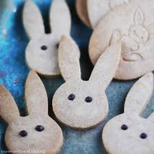 rabbit cookies cinnamon bunny cookies gluten free vegan