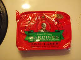 King Oscar Sardines Mediterranean Style - sardine taste test 1 fit for dragon con