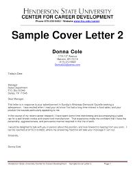 sales job cover letter sample gallery letter samples format